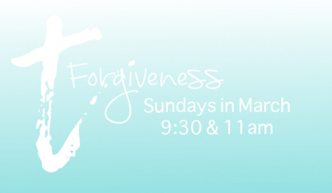 Forgiveness-Forgiving God